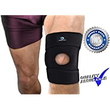 Dr. Recommended Knee Brace Support For Joint Pain Relief Of Patellar Tendonitis, Arthritis, Bursitis, Meniscus Knee Injury, Swollen Knee, Runners Knee, Joint Fatigue And Strains With Ebook