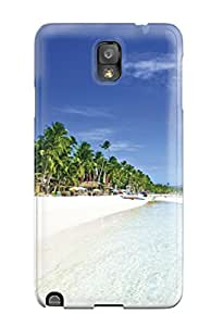 Galaxy Note 3 Case Cover - Slim Fit Tpu Protector Shock Absorbent Case (boracay Philippines )