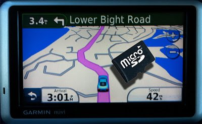 Ecuador GPS Map (SD Memory Card / Garmin Compatible)