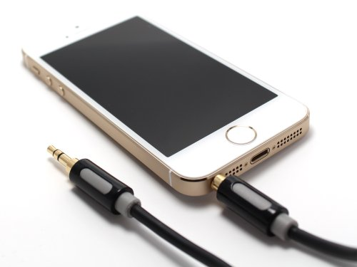InCarCables Car and Home Stereo 1.2m AUX-IN Cable 3.5mm for iPod, iPhone, Smartphone and Mp3 Players