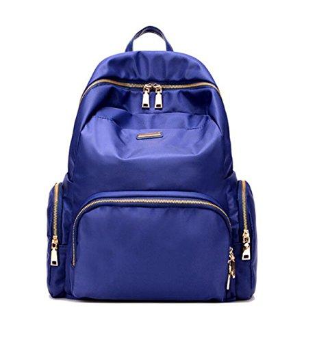 MYLL Rucksack Oxford Vintage Daypack Wasserdicht Rucksack Für Frauen Damen Mädchen College Gym Arbeit Sport,Blue Blue