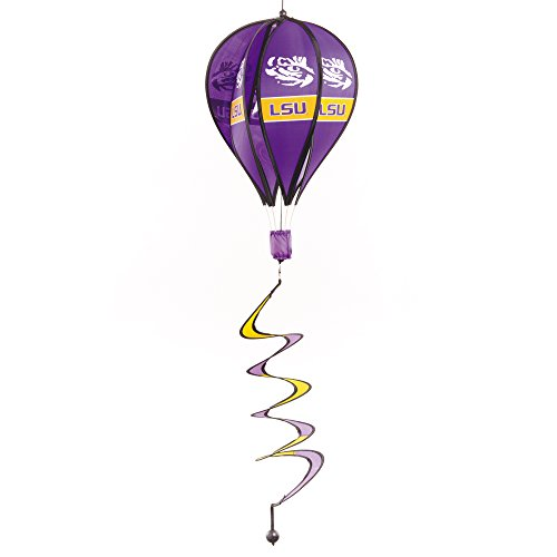 (NCAA LSU Tigers Hot Air Balloon Spinner, Purple,)