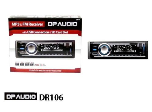 41xztvTrMFL amazon com dp audio dr106 fm and mp3 stereo receiver with usb dp audio dr106 wire diagram at gsmx.co