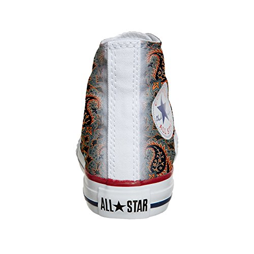 Converse All Star Hi chaussures coutume (produit artisanal) Persian Paisley