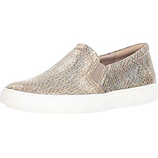 Naturalizer Women's Marianne Sneaker, Pewter Snake Leather, 4 M US