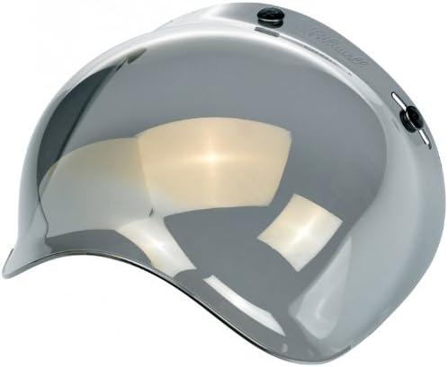 Visi/ère de casque Jet Bubble de la marque Biltwell coloris Miroir//Fum/ée.
