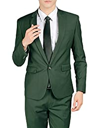 Amazon.com: Green - Suits / Suits & Sport Coats: Clothing, Shoes ...