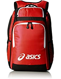 asics backpack red
