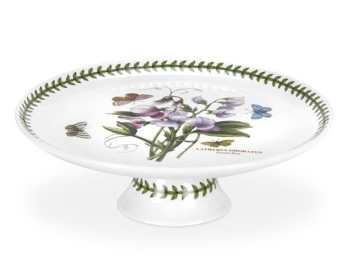 - Portmeirion Botanic Garden Footed Cake Plate