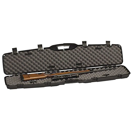 Gun Case, Scoped Rifle Shotgun Hard Case ~ Hunting, Shooting Practice, Storage ~ Lockable and Airline TSA Approved