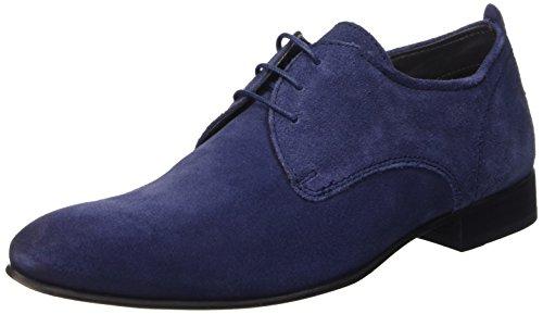 Base London Business, Hombre Derby, color Beige, talla Azul - azul