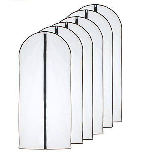 Funda Traje 60x140cm Lado Negro Transpirable Transparente ...
