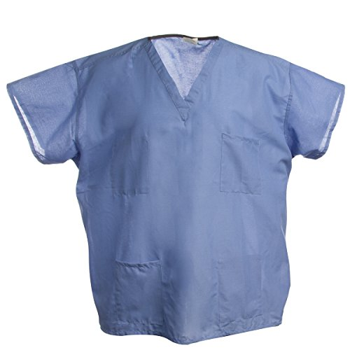 Encompass Blue Hospital Scrubs Tops Or Pants Medical Nursing Surgical - Unisex Top Scrubs Nursing