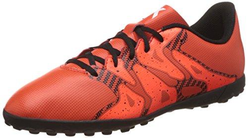 adidas X 15.4 TF J - Botas para niño Naranja / Negro / Rojo