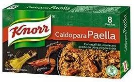 Knorr Pastillas Caldo Paella 24X80G: Amazon.es