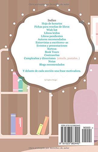 Agenda para blogueros literarios: interior a color (Volume 7 ...