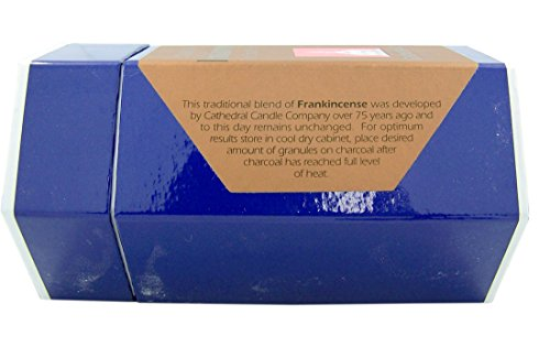 Cathedral Candle Company Common Frankincense Incense for Church Use, 1 LB Box