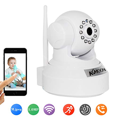 KKMOON HD 1.0MP Wireless Security WIFI IP Camera PnP P2P Pan Tilt IR Cut WiFi Wireless Megapixel Surveillance Camera Network IP Webcam