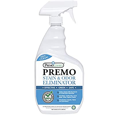 STAIN & ODOR REMOVER – Professional Enzyme Spray – Removes Soiling From Dogs/Cats/Pets – Safely Cleans Carpet/Upholstery/Fabric – Effective On Wine/Blood/Vomit/Urine – Natural Eco Friendly – 32 oz