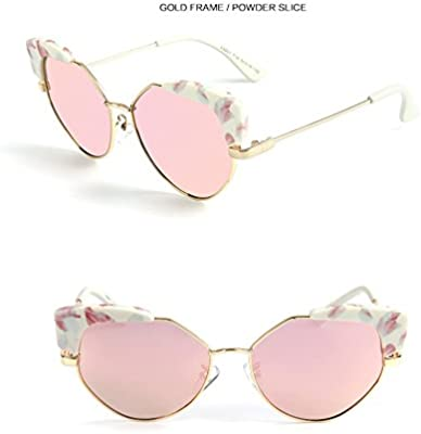 1dce50207ecd Wkae AE New Child Sunglasses Fashion Cat Eye Sunglasses Children Polaroid Sunglasses  Boys Girls Kids Baby Goggles UV400 Mirror (Color : Pink)