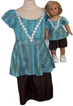 女の子と人形のショーツとトップのサイズ B00ZY1HM0G 6 6 B00ZY1HM0G, 海外インポート専門ホンコンマダム:90b9dffd --- arvoreazul.com.br