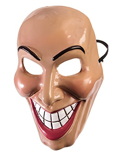 Purge Costumes (Forum Novelties Female Evil Grin Mask Standard)