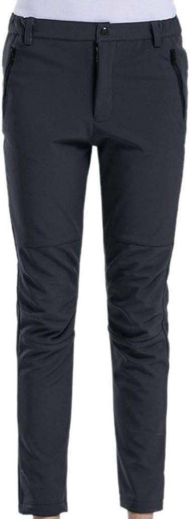 cortavientos de Softshell y forro polar M Geval Pantalones de esqu/í de mujer negro
