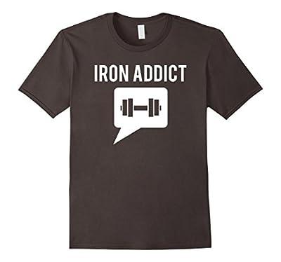 Iron Addict Bodybuilding T-Shirt