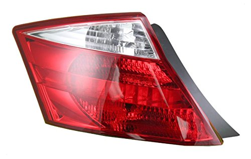 Taillight Taillamp Driver Side Left LH for 08-10 Honda Accord 2 Door Coupe