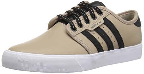 Price comparison product image adidas Originals Unisex-Kids Seeley Skate Shoe, Trace Khaki/Black/White, 13K M US Little Kid