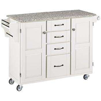 Home Styles 9100 1023 Create A Cart 9100 Series Cuisine Cart With Salt