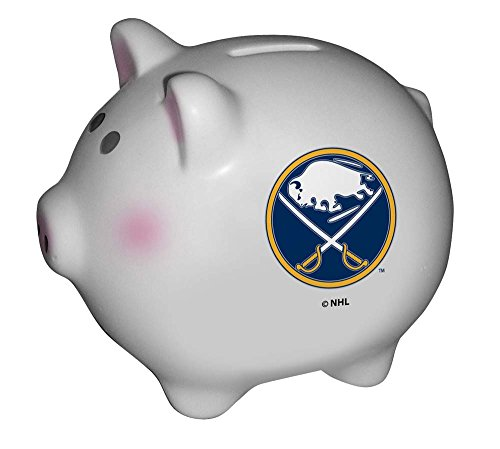 NHL Buffalo Sabres Team Ceramic Piggy - Coin Nhl