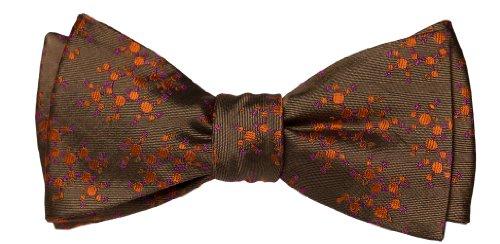 OoOtie-100-Woven-Silk-Mens-Caffeine-DD-V20-Adjustable-25-Inch-Self-Bow-Tie