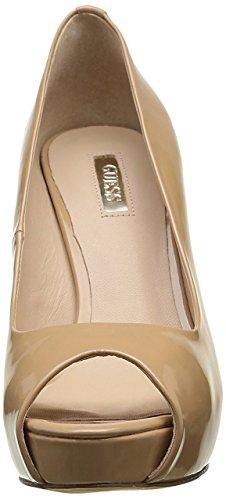 Guess - Zapatos de vestir para mujer Beige Beige Beige