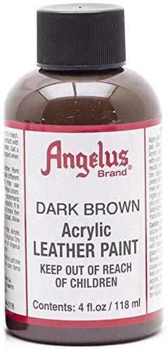 Angelus Leather Paint 4 Oz Dark Brown