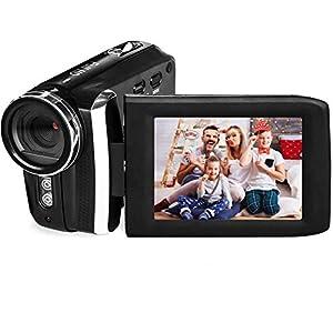 Flashandfocus.com 41y%2B7HXtzvL._SS300_ Video Camera Camcorder Vmotal HD 1080P 12.0MP 2.8 Inch LCD 270 Degrees Rotatable Screen 8X Digital Zoom Camera Recorder…