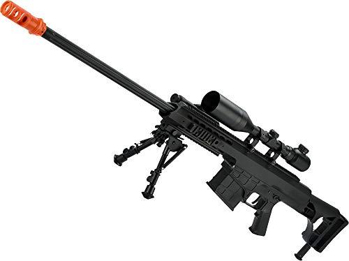 Aeg Sniper Rifle - Evike Snow Wolf Full Size M98B Airsoft AEG Sniper Rifle