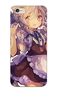 9db1af44165 Faddish Touhou Girls Animal Ears Apron Blue Eyes Cha Goma Gloves Gray Hair Izayoi Sakuya Purple Hair Red Eyes Ribbonstail Touhou Wings Zeai Ryouiki Case Cover For Iphone 6 Plus With Design For Christmas Day's Gift