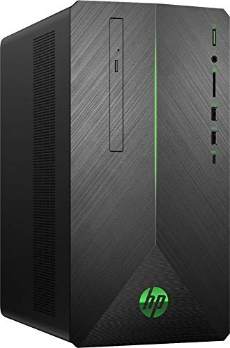 2019 HP Pavilion Gaming Desktop | AMD 2nd Gen Ryzen 7 | 512G SSD+1TB HDD | 32GB | AMD Radeon RX 580 | WiFi | USB-C | DVD-RW | GbE LAN | Windows 10 | Include Mouse and Keyboard