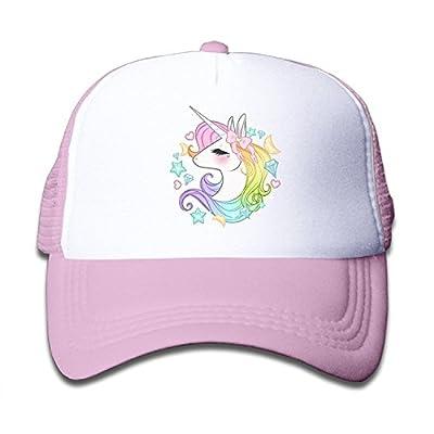 Waldeal Cute Unicorns Kids Girls Mesh Cap Trucker Hats Adjustable