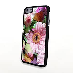 linJUN FENGGeneric PC Phone Cases Fresh Colorful Beautiful Flowers Matte Pattern fit for Charming Cute iphone 6 plus 5.5 inch Case
