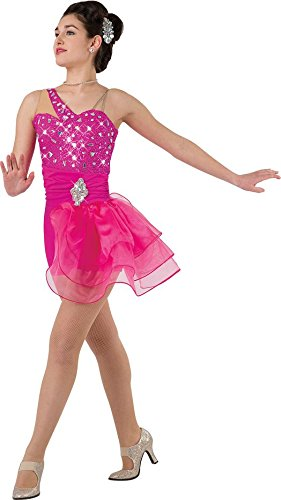 [Costume Gallery - La Bamba Tap Jazz Dance Costume - Size: MA - Color: Magenta] (Dance Costumes Ma)
