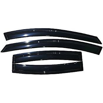 FOR 2011-2015 CHEVROLET CRUZE ACRYLIC WINDOW VISORS RAIN GUARDS 4PS 12 13 14
