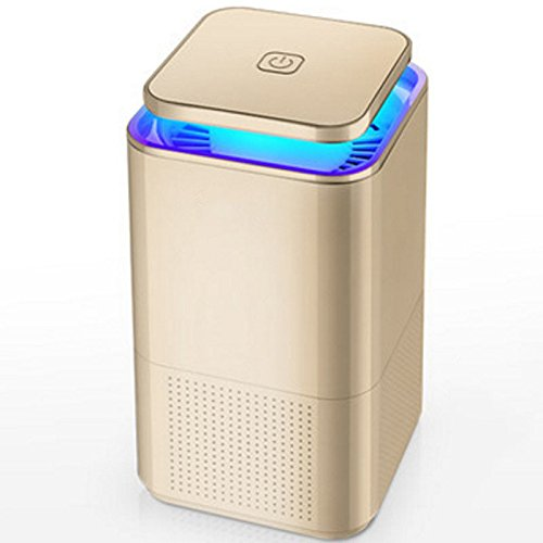 SunYiXin Mosquito killing lamp,household electronic mosquito killer,intelligent light control,quiet,radiation free portable,Golden