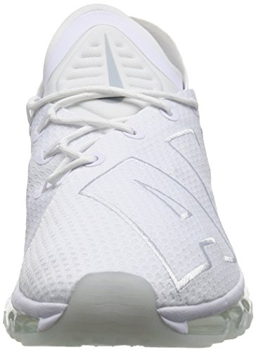 Nike Air Max Flair, Sneaker Uomo White/Pure Platinum 42 EU