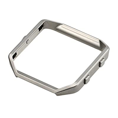 bayite Replacement Accessory Steel Frame for Fitbit Blaze Smart Watch