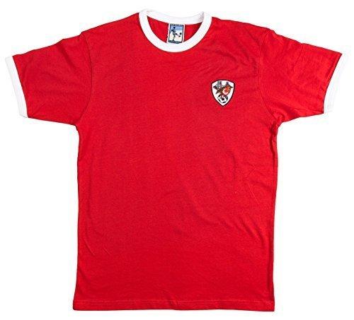Old School Football Viejo Escuela Fútbol Bristol City Años 70 Retro Camiseta de fútbol, Hombre