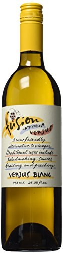 Fusion Napa Valley Verjus Blanc: Juice of Unripe Grapes, 25.35 fl.Ounce (750 ()