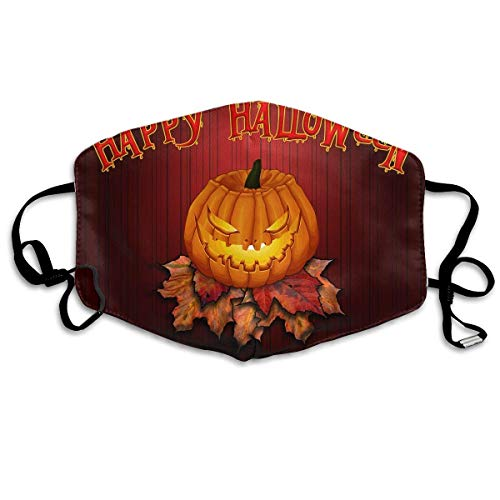 SOADV Mouth Masks Anti Dust Face Mouth Cover Mask Halloween Pumpkin Art Anti Pollution Breath Healthy Mask -
