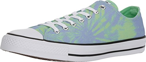 Converse Chuck Taylor All Star Ox - Tie-Dye Mens Fashion-Sneakers 160513C_11 - Illusion Green/Twilight Pulse/White